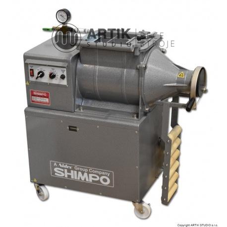 Šnekový lis a mixér Shimpo NVS-07 s vakuem