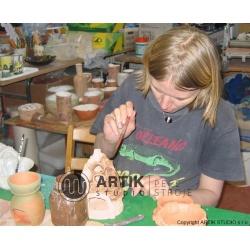 Kurz Keramika III, podzimní kurz č. 6: dekorování