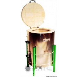 Keramická pec Kittec CB 120 S - plynový víkový tlumič