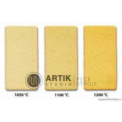 Žlutá kamenina se šam. č. 14sf 40 (1000-1300°C)