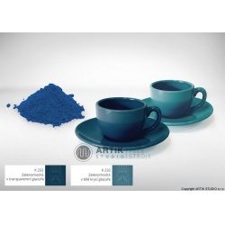 Ceramic stain K 232, greenblue