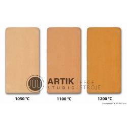 Skin color ceramic clay no. 2 (1000-1280°C)