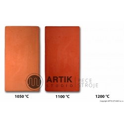 Red school clay no. 322 (1000-1150°C)