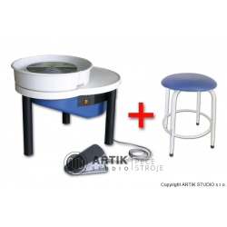 Hrnčířský kruh RK-55 se sedačkou Stool