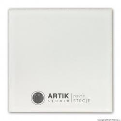 Glazura Pw 185, Bílá krycí (1020-1160°C)