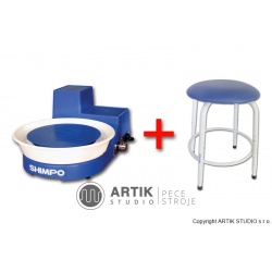 Hrnčířský kruh RK-5T se sedačkou Stool