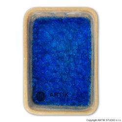 Drcené sklo GS-27, Modrá, 0,5 kg (1000-1150°C)
