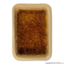 Drcené sklo GS-55, Hnědá, 0,5 kg (1000-1150°C)
