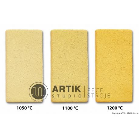 Žlutá keramická hllína č. 14sf 40 (1000-1300°C)