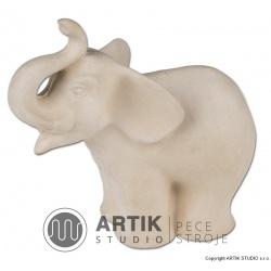 Plaster mould S2, Elefant (4 parts)