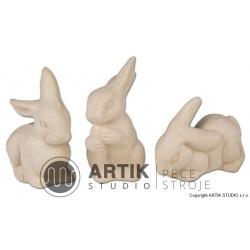 Sádrová forma ZA1, Zajíčkové (3ks)