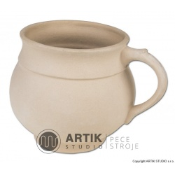 Plaster mould H1, Bulbous mug