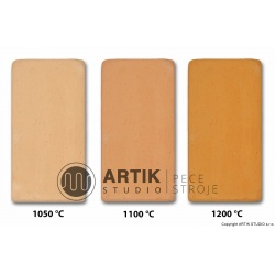 Kamenina barvy kůže se šam. č. 2sf (1000-1280°C)