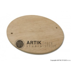 Podložka dřevěná (bat), průměr 300 mm
