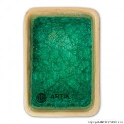 Drcené sklo GS-43, Modrozelená 0,5 kg(1000-1150°C)