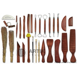 Set of ceramic tools complete, 27 pcs