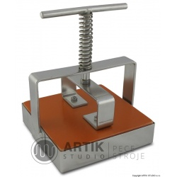 Tile cutter stainless steel, square cca. 10x10 cm