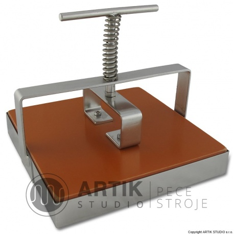 Tile cutter stainless steel, square cca. 15x15 cm