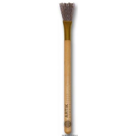 Texturing brush medium