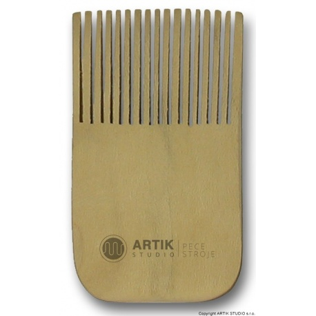 Wooden decorating brush