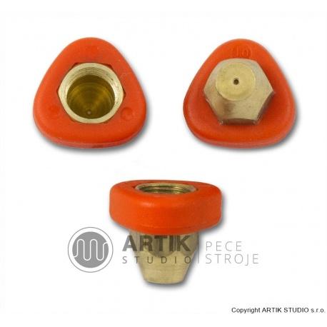 set of nozzles 3 pcs (o 0,5; 1 and 1,2 mm)