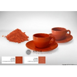 Ceramic stain D 9496, red