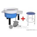 Pottery wheel Shimpo Whisper-T with Stool
