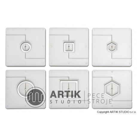 Accessory: 6 pcs hollow profiles and stainless ste