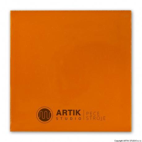 Glaze PD 510, Orange brown (1000-1100°C)