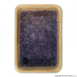 Crushed glass GS-35, Purple, 0,5 kg 1000-1150°C