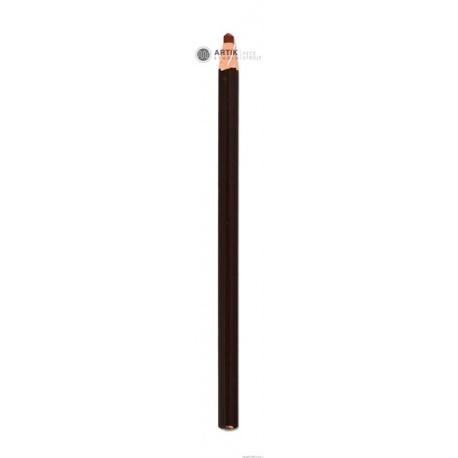 Ceramic marker (1020 - cca.1150°C), brown