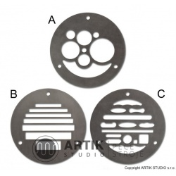 Set of 3 profiles for NRA/NVA (A+B+C)