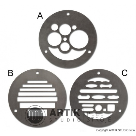 Set of 3 profiles for NRA/NVA/NVS (A+B+C)