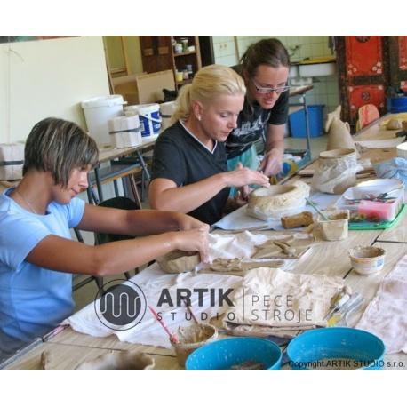 Ceramic course CERAMICS I, spring course no.1