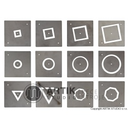 Accessory: 12 pcs additional profiles for TP