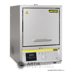 High-temp. furnace Nabertherm LHT 08/16 wtih P470