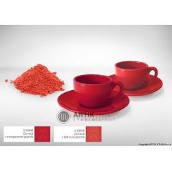 Ceramic stain K 63099, red