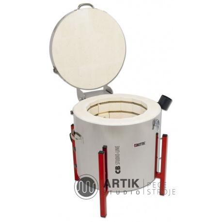 Ceramic kiln Kittec CB 60 PLUS with contr. TC 44