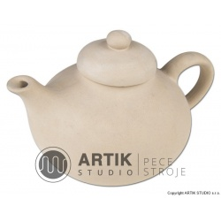 Plaster mould K2 + lid, Chubby kettle with lid