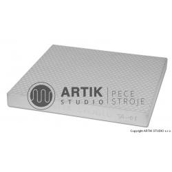 Texturing plaster board TA-01