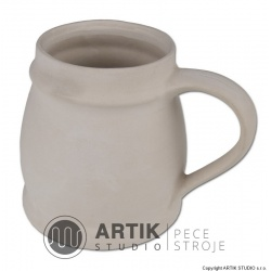 Plaster mould H4, Large mug (3 parts)