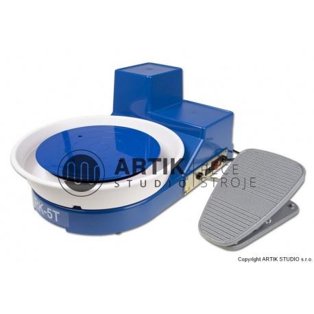 Hrnčířský kruh Shimpo RK-5TF, stolní s pedálem