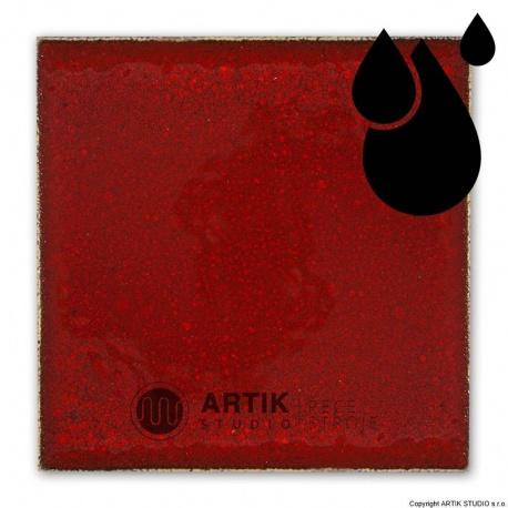 Liquid glaze PK 685t, Cardinal red, 200 ml