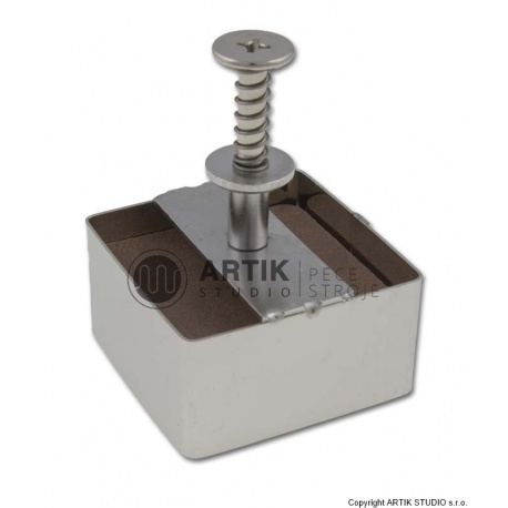 Tile cutter stainless steel, square cca. 5 x5 cm
