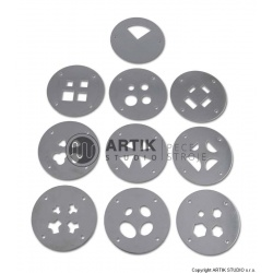 Set of 9 pcs (36 shapes) profiles for HX-65