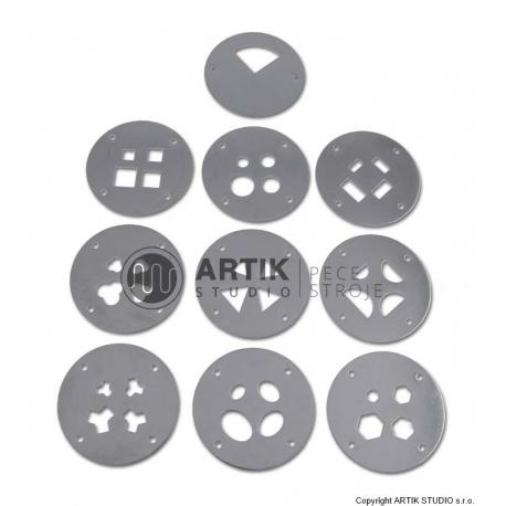 Set of 9 pcs (36 shapes) profiles for HX-65