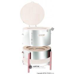 Extension ring for kiln Kittec CB 130 SX