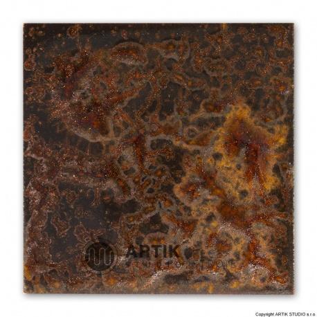 Glazura PK 580, Zlatohnědá (1050-1150°C)
