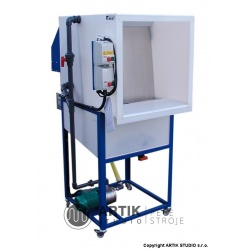 G165 Waterwash glazing spray booth