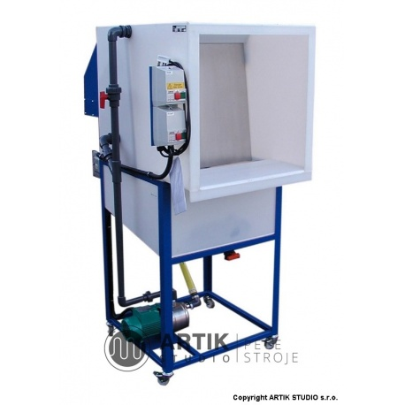 G165 Waterwash glazing spray booth